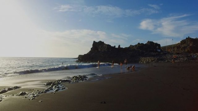 El Charco Verde beach
