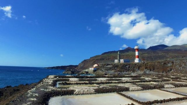 Salines and Lighthouse of Fuencaliente